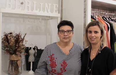 Belén Cuesta e Irene Fernández en Berline Boutique