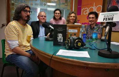 Amauta Castro en Radio Fene