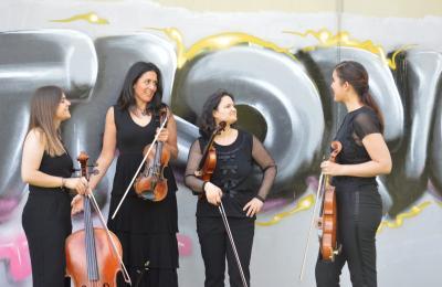 Aquelas, cuarteto de violíns