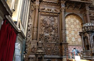 A circuncisión no retablo de Francisco de Moure