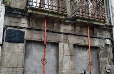 Casa natal de Ricardo Carvalho Calero. Ferrol vello