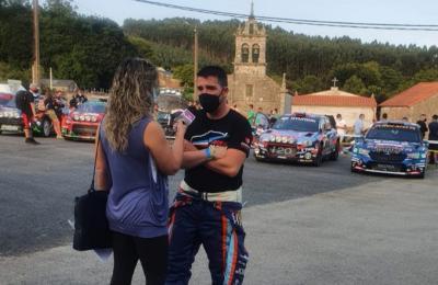 Tatty Lavandeira en conversa con Iván Ares