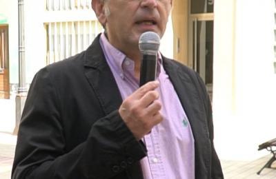Frankie Muiño interpretando ao inspector Sánchez Pereiro no barrio dos Castros na Coruña