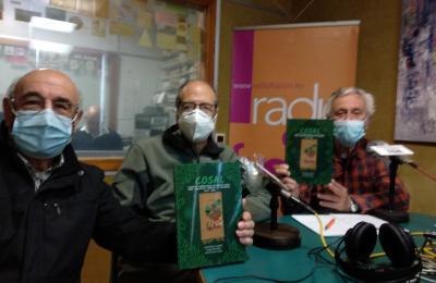 Anxo Ferreiro, Antón Blanco e Xaquín Ros. COSAL Ferrolterra