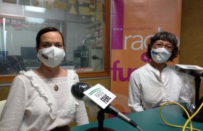 Cristina Cadena e Arantxa Fernández Crespo