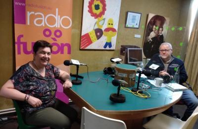 María Moure en Radio Fene