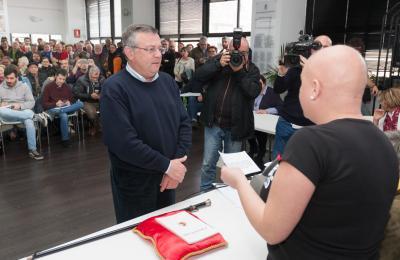 Gumersindo Galego. 6 de abril de 2018