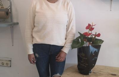 Ingrid Cendán, do café bar Candajo