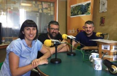 María Sánchez, Leandro Lamas e Roberto Grandal