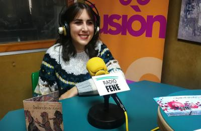 Xiana Lastra en Radio Fene Radiofusión