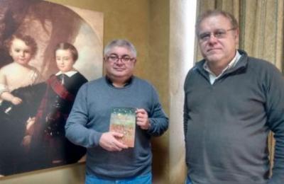 Ramón Loureiro con Henrique Sanfiz en Radio Fene