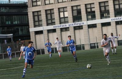 Campo de Agrela. A Coruña. Sporting Ciudad 2 - 3 Maniños