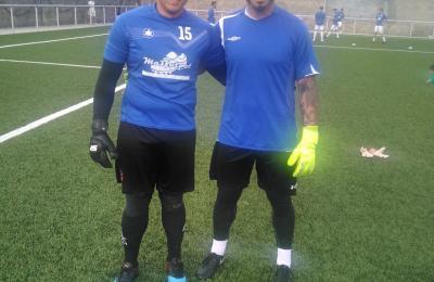 """Abraham Santos e Arnaldo Moraes """"Junior"""""""
