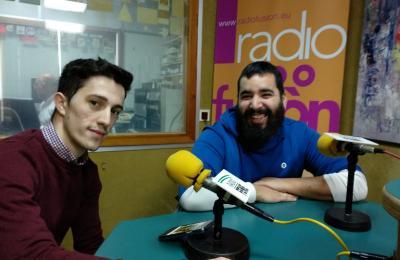 Jesús Marcos e Carlos Montero. Comisión de festas de Maniños. 2019