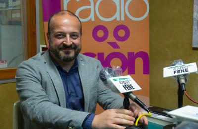 Manuel Gago en Radio Fene Radiofusión