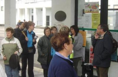 Protesta das mariscadoras polos retrasos no abono das axudas da Xunta de Galicia. 2012