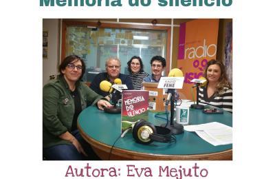 Club de lectura de Radio Fene Radiofusión sobre o libro de Eva Mejuto