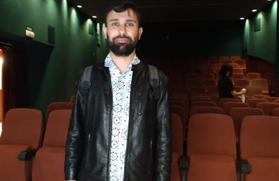 Alberte Mera nos Duplex cinema de Ferrol