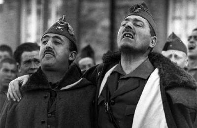 Franco e Millán Astray