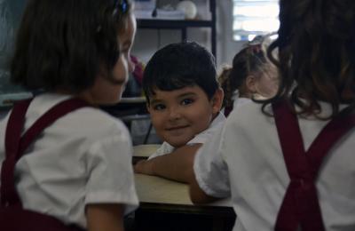 Escola en Cuba. Outubro 2019