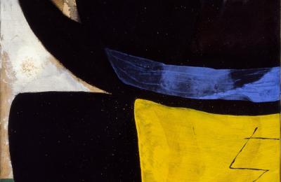 Tête, oiseau / Cabeza, pájaro, 1976. Joan Miró
