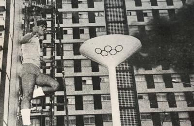 O pebetero olímpico encendeuse en San Valentín.