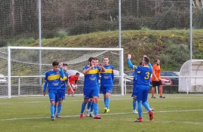 Perlío 2 - 2 Valdoviño. Segunda Galicia de fútbol