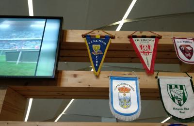 """O Perlío na exposicións """"Valor e mestría. Galicia como fútbol"""" na cidade da cultura de Galicia"""