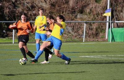 Perlío na Liga feminina de fútbol oito