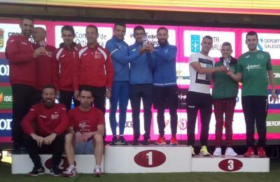 O Clube Atletismo Fene, terceiro no campionato galego de media maratón