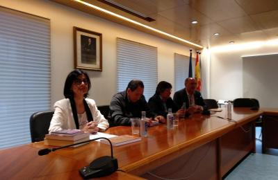 Anxos García Fonte, Xosé Luis Axeitos, Pilar Díaz e Anxo Angueira