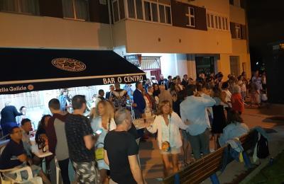 Festa para celebrar os tres anos do Bar O Centro