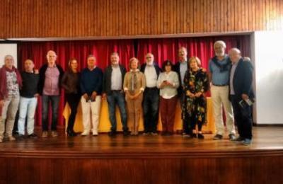 Antigos compoñentes de Tagallo e do Teatro Círculo de Perlio