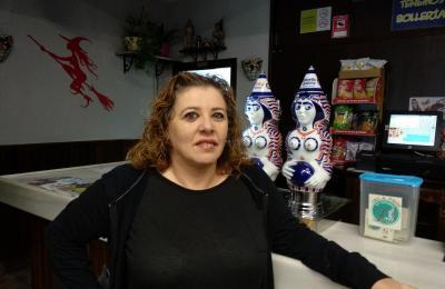 Ana María Painceiras da cervexería Novo Tarnas