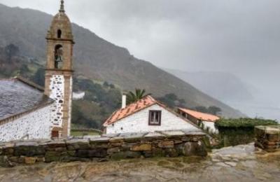 Santo André de Teixido en Cedeira