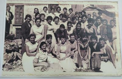 Mulleres de Maniños. 21 de setembro de 1958