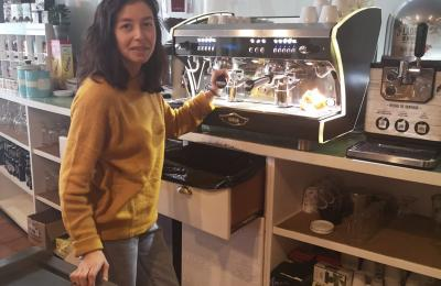 Lúa da cafetería Tívoli