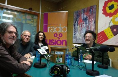 Carlos Velasco, Henrique Sanfiz, Susi Leira e Eliseo Fernández