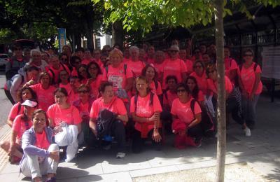 Participantes de Fene na Carreira da Muller da Coruña. 2018