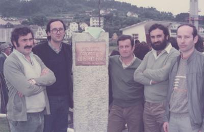 Xardín Luís Seoane de Perlío. Acto de inauguración.